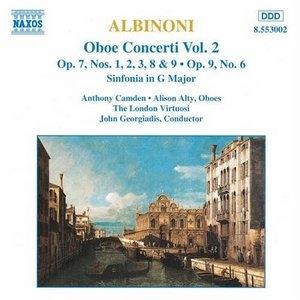 Albinoni: Oboe Concerti, Vol.2 album cover