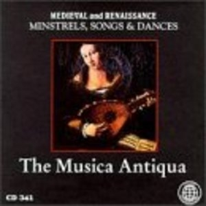 Medieval And Renaissance Minstrels Songs And Dances album cover