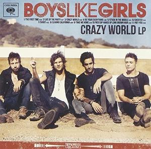 Crazy World album cover