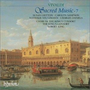 Vivaldi-Sacred Music Vol.7 album cover
