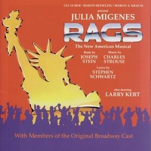 Rags (1991 Cast Recording) album cover