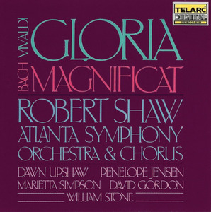 Vivaldi: Gloria, Bach: Magnificat album cover