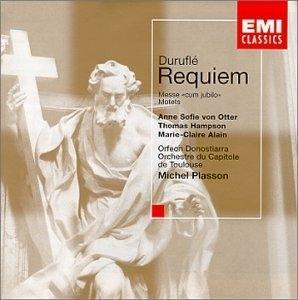 Durufle: Requiem album cover