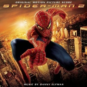 Spider-Man 2: Original Motion Picture Score album cover