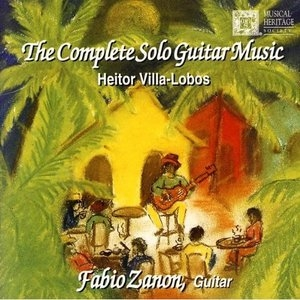 Villa-Lobos: The Complete Solo Guitar Music album cover