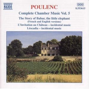 Poulenc: Complete Chamber Music, Vol.5 album cover