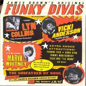 James Brown's Original Funky Divas album cover