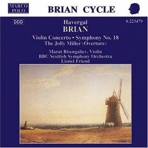 Brian: Violin Concerto, Symphony No.18 album cover