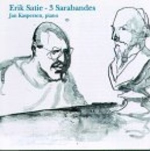 Satie: 3 Sarabandes album cover