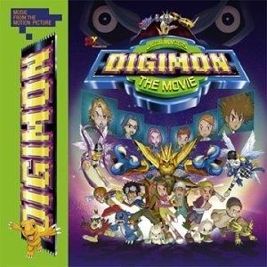 Digimon Movie Soundtrack album cover