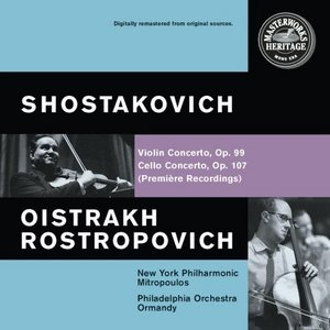 Shostakovich: Violin And Cello Concertos album cover