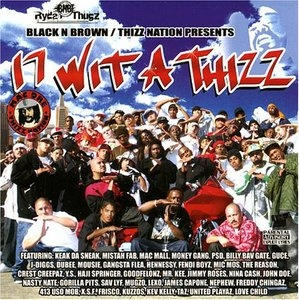 17 Wit A Thizz album cover