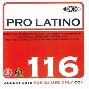DMC Pro Latino, Vol. 116: August 2018 album cover