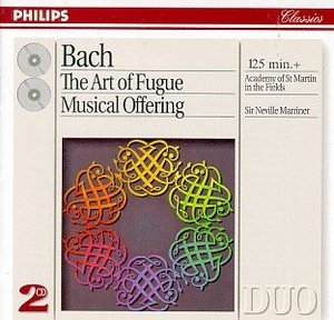 JS Bach: Art Of Fugue~ Musical Offering album cover