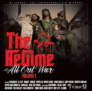All Out War Mixtape Vol. 1 album cover