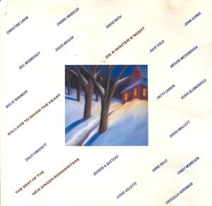On A Winter's Night album cover