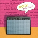 Rock She Said: Guitars + ... album cover