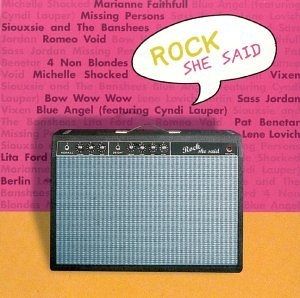 Rock She Said: Guitars + Attitudes album cover