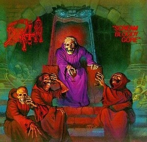 Scream Bloody Gore album cover