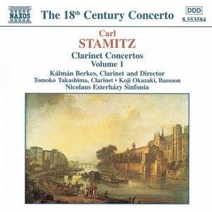 Stamitz: Clarinet Concertos Vol. 1 album cover