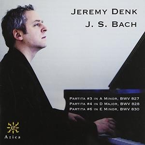 Bach: Partitas 3, 4 & 6 album cover