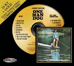 One Man Dog (Limited Gold Edition) album cover