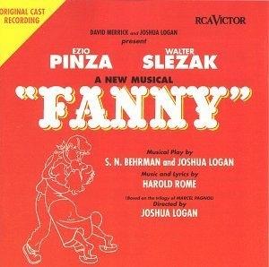 Fanny: A New Musical (1954 Original Broadway Cast) album cover