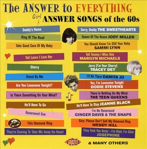 The Answer To Everything: Girl Answer Songs Of The 60s album cover