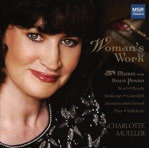 Woman's Work: Music For Solo Piano album cover
