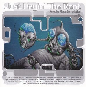 Just Payin' The Rent: Amoeba Music Compilation Vol. II album cover