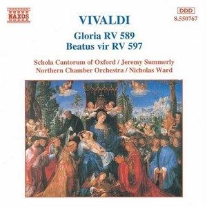 Vivaldi: Gloria RV589, Beatus Vir RV597 album cover
