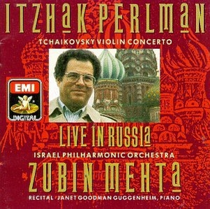 Live In Russia album cover