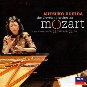Mozart: Piano Concertos Nos. 23 & 24 album cover