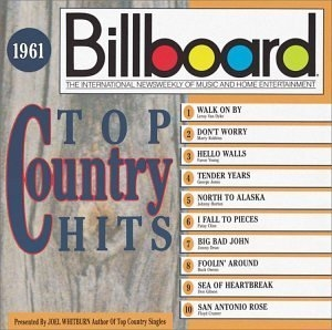 Billboard Top Country Hits: 1961 album cover