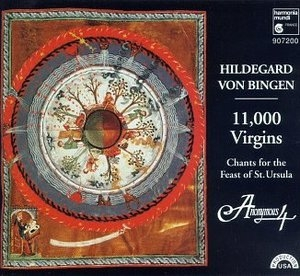 11,000 Virgins: Chants For The Feast Of St. Ursula album cover