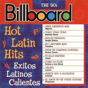 Billboard Hot Latin Hits: The '90s album cover