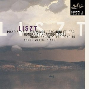 Liszt: Piano Sonata In B Minor~ Paganini Etudes album cover