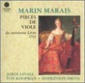 Marais: Pieces De Viole Du Troisieme Livre,  1711 album cover