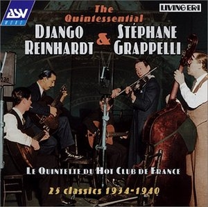 (The Quintessential) Quintette Du Hot Club De France: 25 Classics 1934-1940 album cover