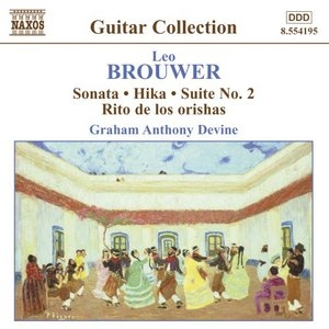 Brouwer: Sonata, Hika, Suite No.2 album cover