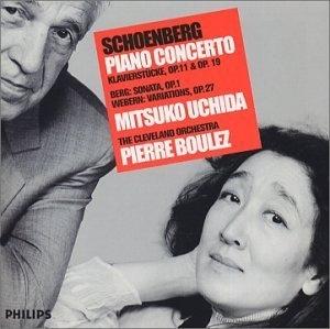Schoenberg: Piano Concerto album cover