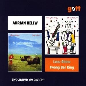 Lone Rhino~ Twang Bar King album cover