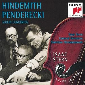 Hindemith, Penderecki: Violin Concertos album cover