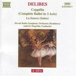 Delibes: Coppelia, La Source album cover