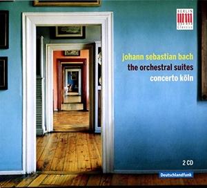 Bach: Orchestral Suites album cover
