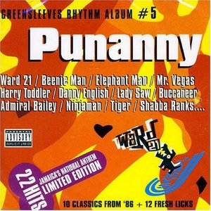 Greensleeves Rhythm Album #5: Punanny album cover