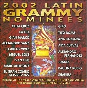 2002 Latin Grammy Nominees album cover
