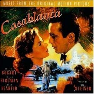 Casablanca: Original Motion Picture Soundtrack album cover