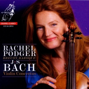 Bach: Violin Concertos album cover