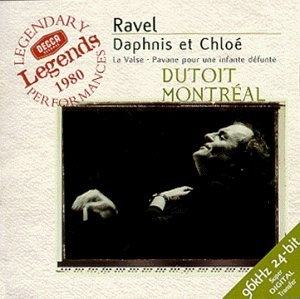 Ravel: Daphnis Et Chloe album cover